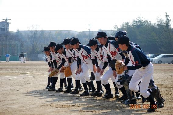 風林火山との練習試合